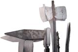 "Programski letak izložbe – Matko Antolčić, ""Arma Christi"" – Knjižnica Marija Jurić Zagorka (22.-31.03. 2021.)"